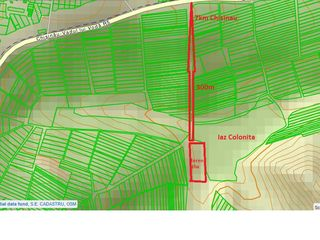 Se vinde teren arabil 700m de la traseul Vadului Voda, 7km de la Chisinau