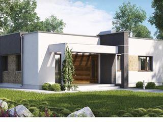Дом 100м2 белый вариант