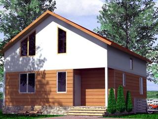 Строительство СИП домов в Молдове. Дом для круглогодичного проживания из СИП (SIP) панелей.