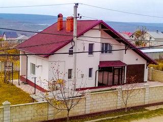 Только плюсы! Дом 2 уровня! 10,7 км от Кишинева. Близко к Полтавскому шоссе! Отличный вариант!