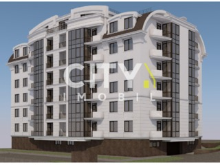 Продается 1-а комн. квартира,  Яловены, Молдова 56 m