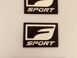 Embleme Lexus F sport Noi