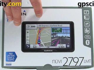 Garmin nuvi 2597 lmt новый в упаковке голосовое управление + блютуз кар кит