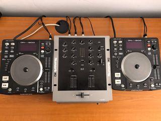 Denon DN-S1200 (комплект 2 шт.) + пульт Numark M2: подключай и играй!