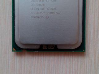 Процессор Intel Celeron 430, 1 ядерный, 1800GHZ. Socket 775 для ПК