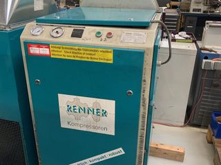 11 kw 1500 литров в минуту. винтовой компрессор б/у германия+подарок