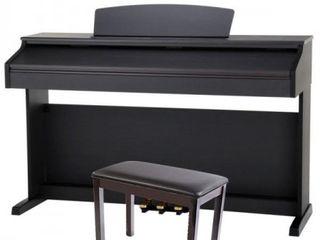 Pian digital cu scaun flame slp 150 RW - rosewood (maro inchis) mat