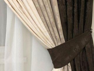 Продам качественные тюль с утяжелителем и шторы-Турция! Draperii,galerii,perdele,jaluzele