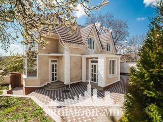 Ciocana! casă, 2 nivele, 4 camere, euroreparație, curte verde! 210 mp + 7 ari!