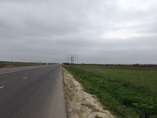 Se Vinde Teren Prima Linie - 1 ha pe traseul R1 Chisinau-Ungheni, Cojusna, Straseni