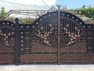 Sunati la orice ora!  Porți metalice in doar 7 Zile !  Construcții metalice din fier forjat !!! (22)
