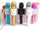 Беспроводной мини-портативный WS-858 Karaoke Микрофон Bluetooth …