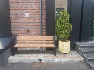 Уличные скамейки, лавки, столы
