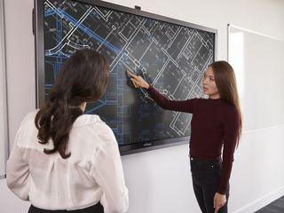 Display-uri interactive tactile Vivitek NovoTouch în Moldova.
