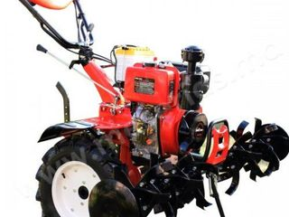 Motocultor 10 c.p. hwasdan hsd1g-135e, diesel, reductor/livrare gratuita/garantie 2 ani/ 17.500 lei