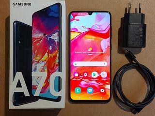 Samsung A70 black, 128Gb.
