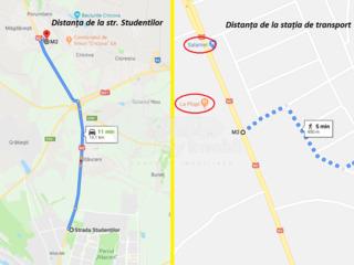 Teren destinat p/u construcție, s. Măgdăcești, 7 ari, 11000 € !