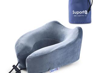 Perna de calatorie pentru gat Ortopedica cu spuma de memorie - Extra