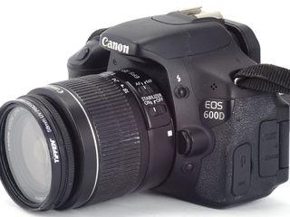 Canon 600D 18-55mm.