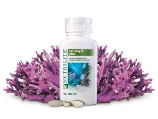 Nutrilite Calciu Magneziu Vit D Zinc minerale Amway