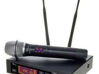 Chirie mixere active si pasive. Chirie microfoane vocale, in piept, cu fixare la ureche.