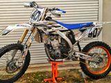 Yamaha мотокросс