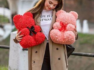 Акция!!! большой медведь (40 см) лучший подарок этого сезона всего за 649лей + подарок