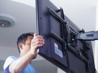 Instalarea specializata a suportului TV Montarea sistemelor de suport TV fixe si reglabile.