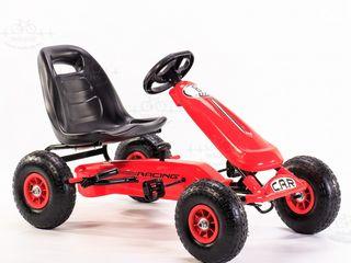 """Karting cu pedale """"Car 8 rosu"""""""