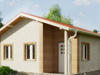 Небольшой дом для круглогодичного проживания всей семьи. Строительство СИП домов в Молдове