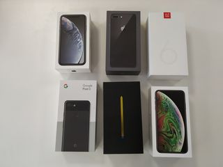 Cutii de la Iphone si Samsung
