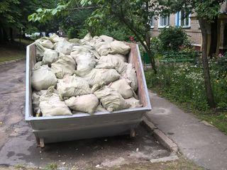 Вывоз мусора контейнером 8м3!!!