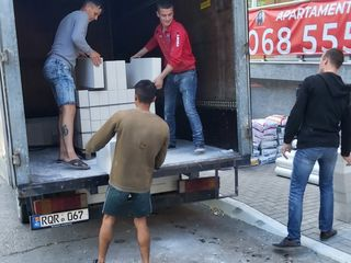 Transport materiale de constructie ,hamali ,evacuare gunoi