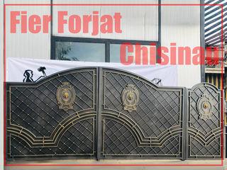 Porti Garduri Scari Perile Copertine Foisoare Terase Foisoare Rafturi Scaune - Fier Forjat Chisinau