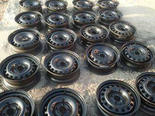 Железные диски и колпаки на множество моделей авто, комплекты, пары, поштучно, R14-15-16