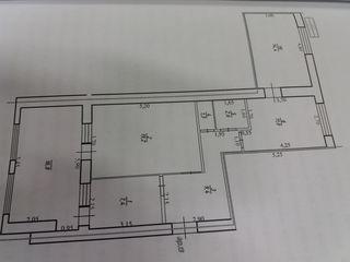 продам или поменяю на 2-х или 1-но комнатную квартиру  в Кишиневе
