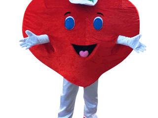 Costum inimă (dau în chirie)