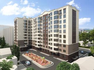 Buiucani! Alba Iulia Residence, Ap. cu 2 odăi, 63,96m2 la preț de la 690euro/m2!