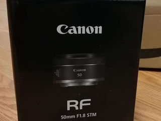 Canon RF 50mm 1.8