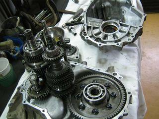 Reparatia  cutiilor de viteze mecanice