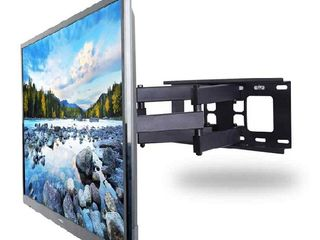 Кронштейны для LED, LCD, QLED, plasma ТВ. Установка и монтаж телевизоров на стену.