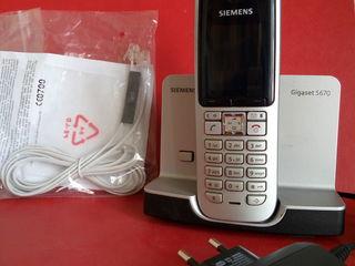 """Шикарный радиотелефон """"Siemens""""."""