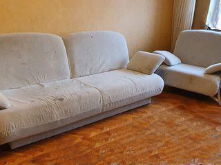 Мягкая мебель. Диван, два кресла.