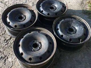 Комплект дисков штамповок Renault Megane-Scenic III, Dacia Duster, Nissan Quashkai, r15/r16, 5x114.3