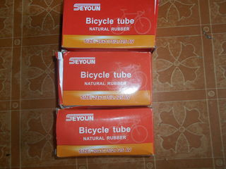 """камеры велосипедов -20""""-24""""-26""""новые в упаковках."""