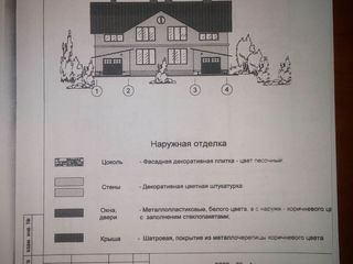 Продается недостроенный одноэтажный котельцовый дом,