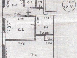 Продаем 2-комнатную квартиру с мебелью в г.Рыбница возле электросетей=$10990. Торг.