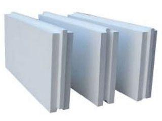 Пазогребневая гипсовая плита (влагостойкая) = 140 лей/кв.м.