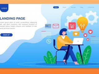 Создание Landing page в Молдове на заказ!