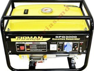 Generator 2,5 kW Firman SPG 3000 cu livrare gratuită în toată țara. Garanție inclusiv.